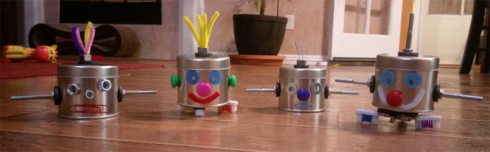 DIY Tin Robots
