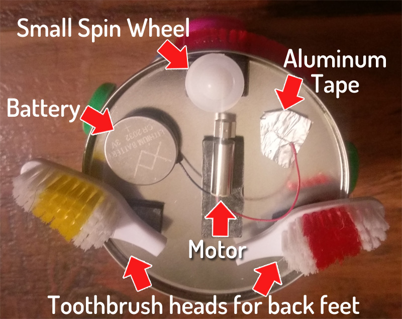 tin robot motor
