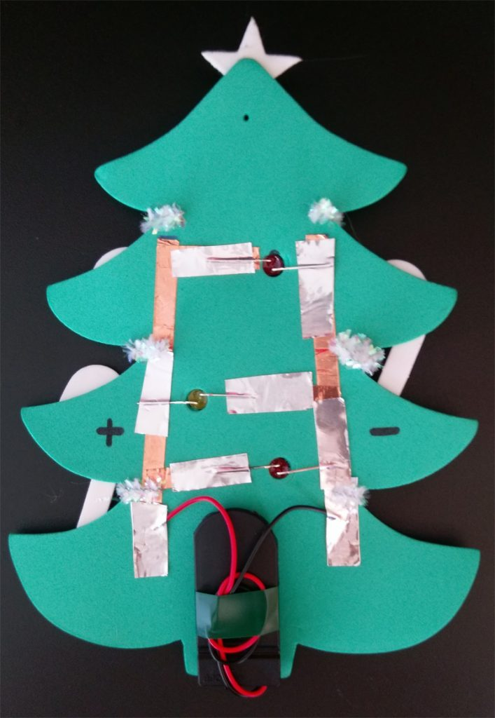 parallel circuit christmas tree